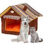 OMGO Belle Maison niche pour chien