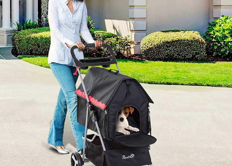 Les avantages de la poussette pour chien ?