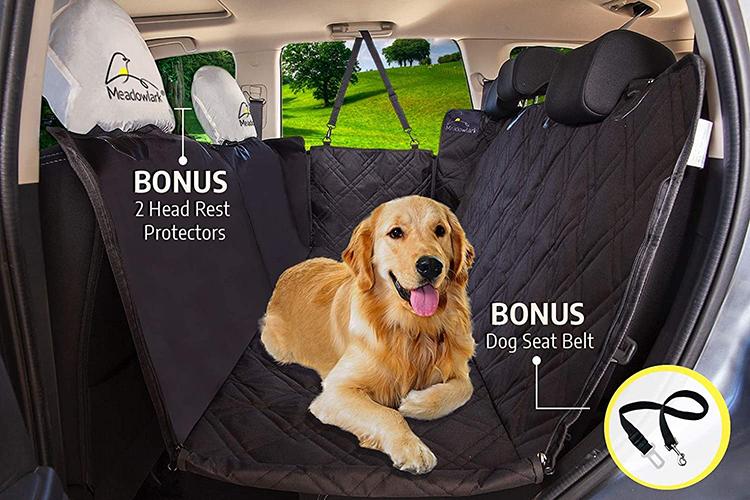 housse de protection de siège auto pour chien